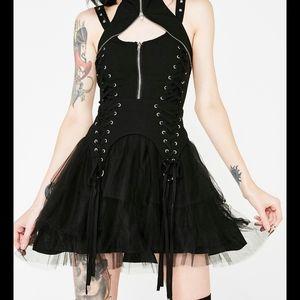 Gothic Mesh Skirt Sourpuss Dolls Kill Hot Topic